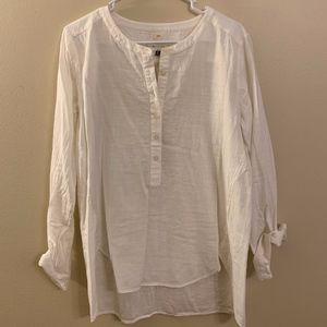 LOFT Softened Henley Shirt
